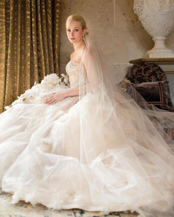 Um retrato clássico da noiva